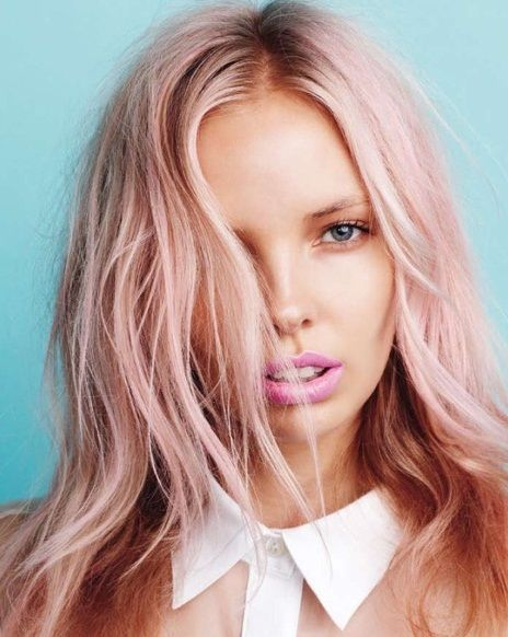 Image result for Millennial Pink hair