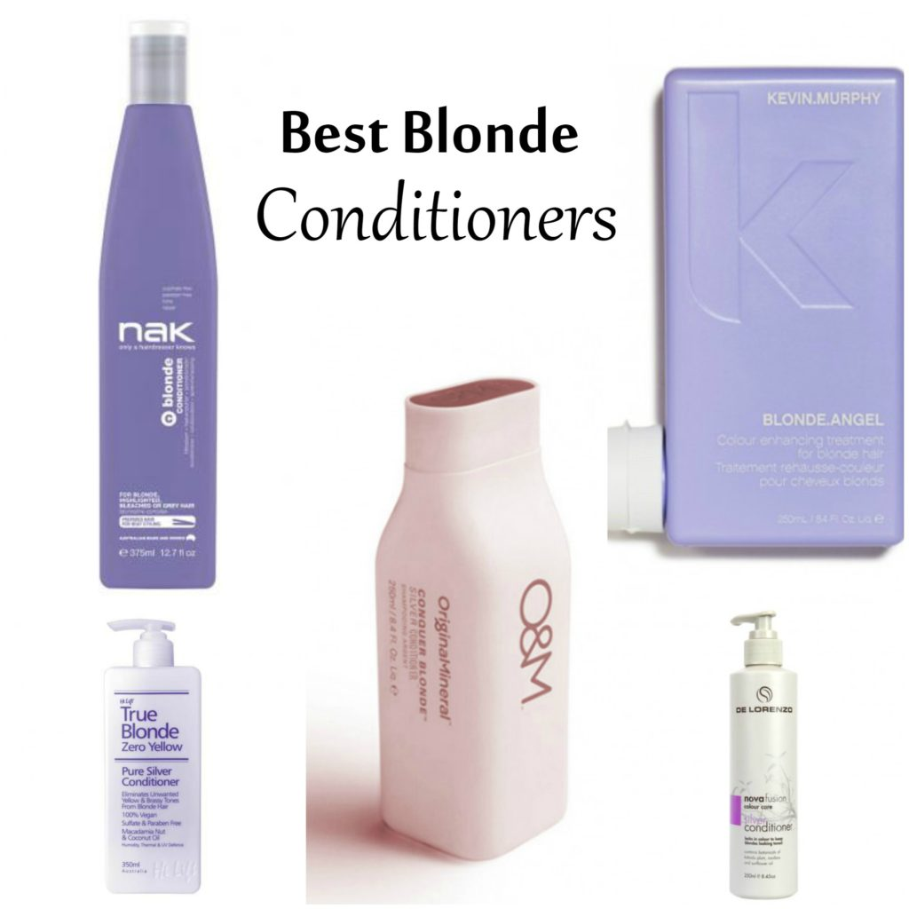 top 5 blonde conditioners