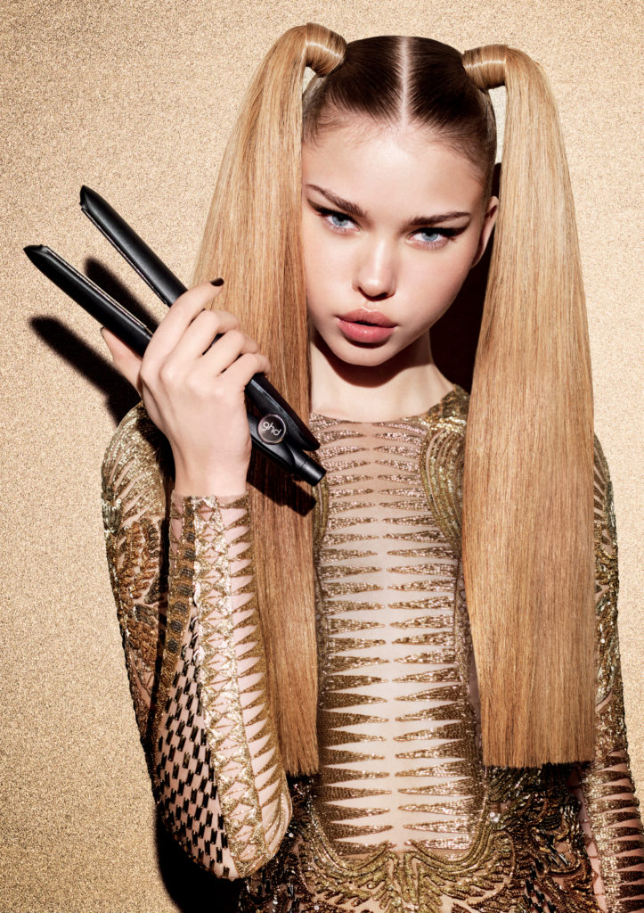 GHD Gold Double Pony