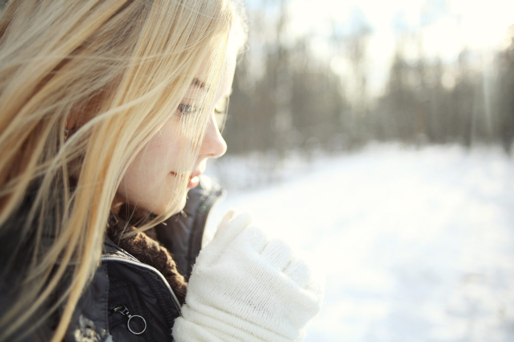 hair care for winter with Paul Mitchell