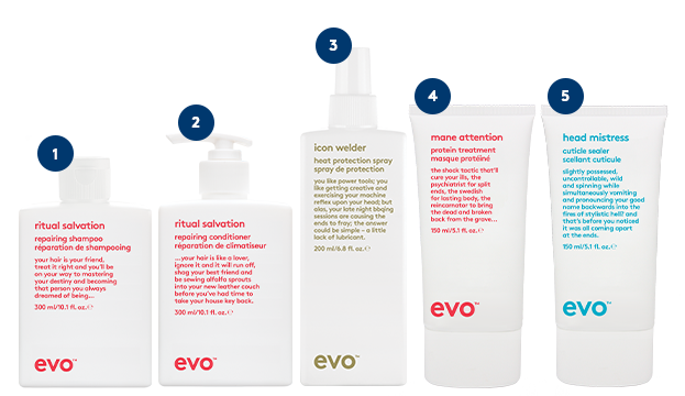 Repair Summer Hair Damage with Evo