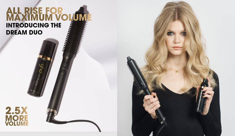 ghd rise: All rise for new volumising hot brush