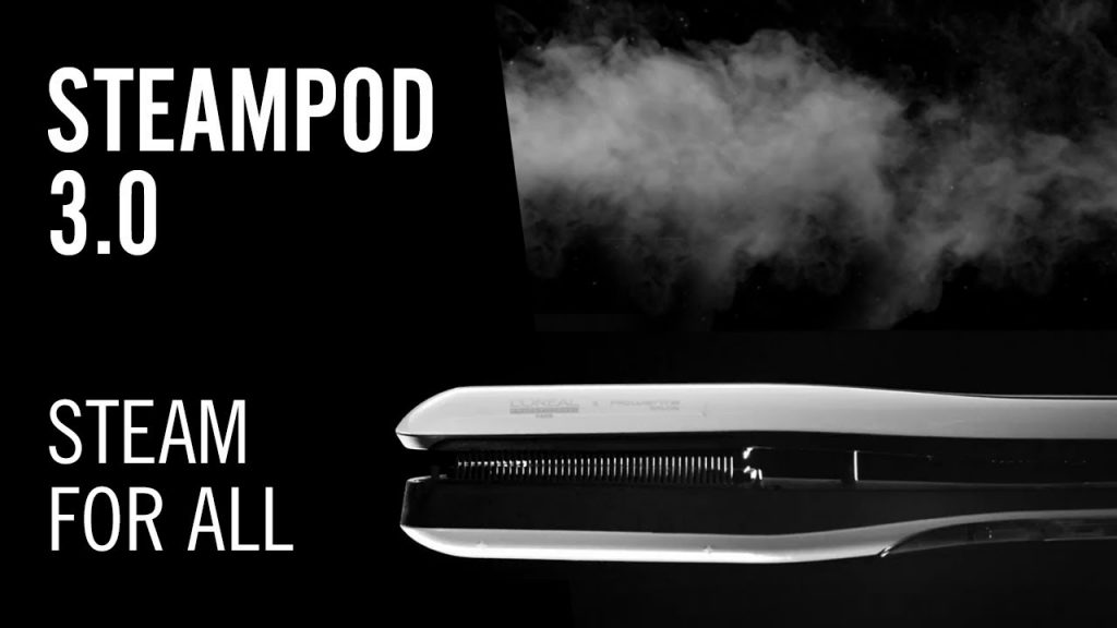 L'Oreal New Generation Steampod 3.0: Revolutionary Steam Hair Styling