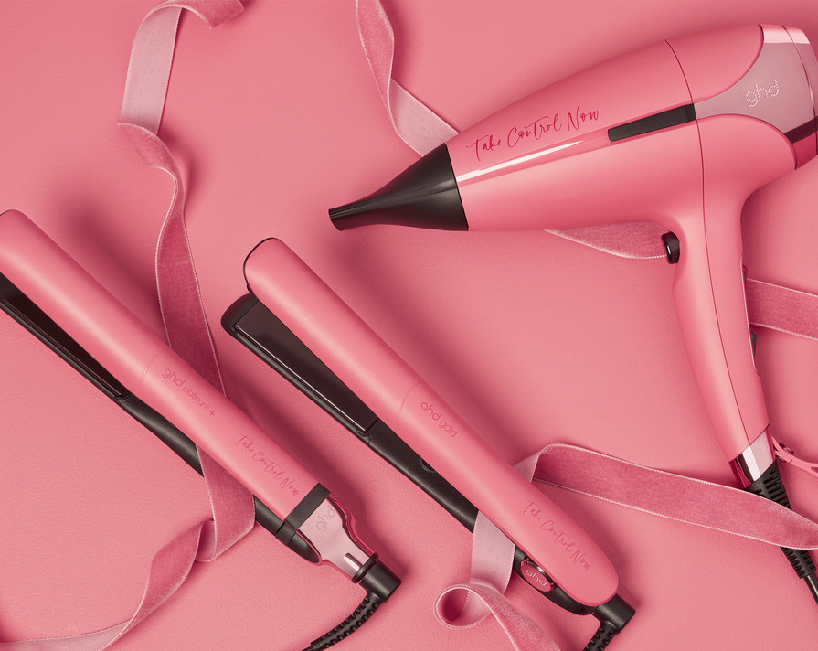 Take Control Now with ghd Rose Pink